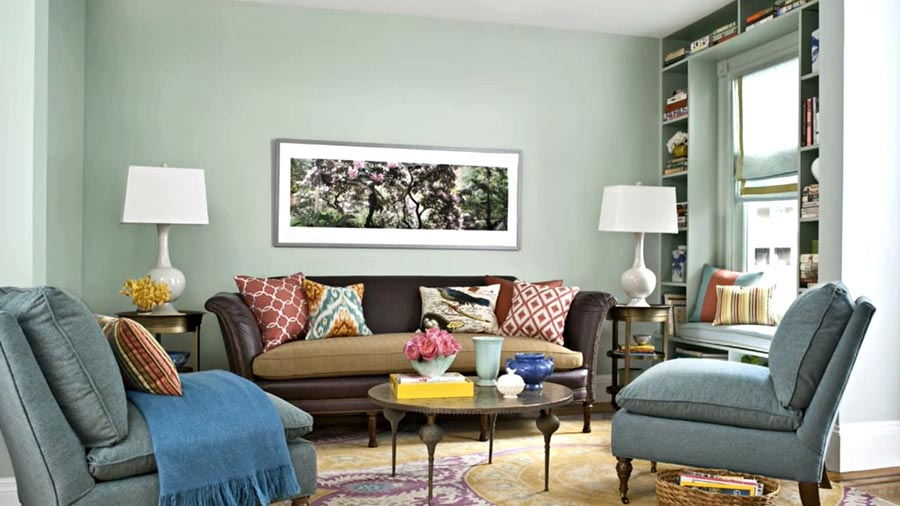 Cozy Living Room Color Scheme: Everyday Moroccan living room color schemes