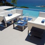 Modern patio furniture- bringing indoor living into outdoor