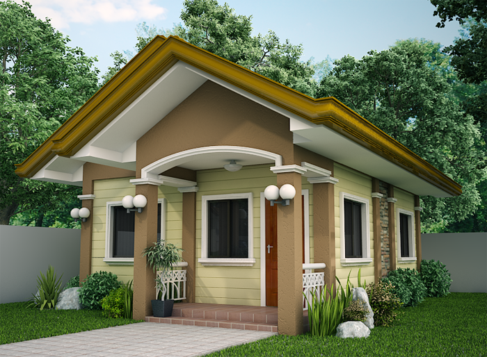 Perfect Cozy OUR ESTIMATE: P700,000 To P900,000 Simple Home Design