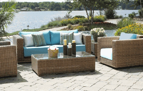 Cozy Patio furniture materials - wicker and rattan wicker rattan outdoor furniture
