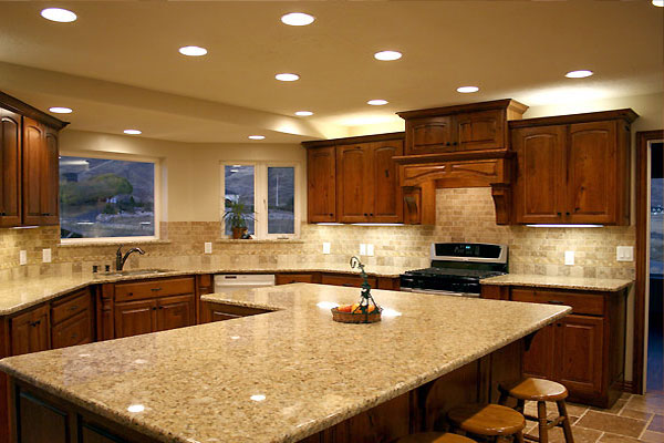 Cozy The specialist team of granite worktops installation London is present  throughout the kitchen work tops granite