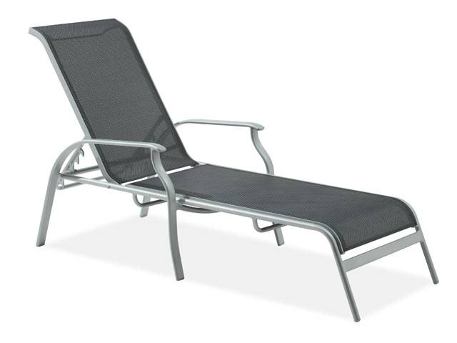 Cozy Tribeca Sling Chaise Lounge outdoor patio lounge chairs