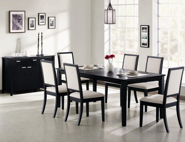 Modern Dining Room Chairs make your dining space modern with the contemporary dining room