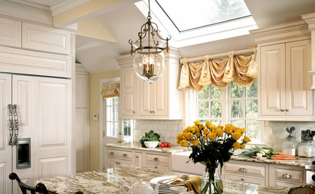 Cute ... custom kitchen window treatments ... custom kitchen window treatments
