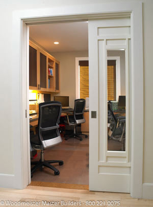 Amazing ... office pocket door custom pocket doors