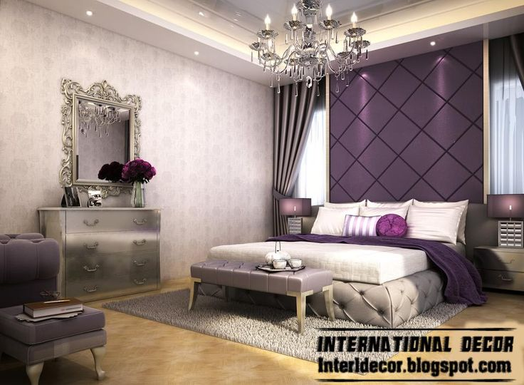 Gray And Purple Bedroom Ideas 2 Interesting Decorating Ideas