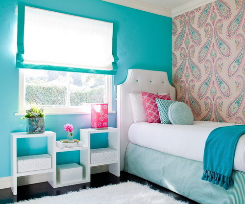 Cute 16 Lovely Colorful Kids Bedrooms That Your Kids Will Adore. Teenage Small  Room Ideas