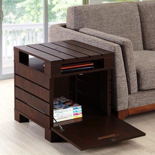 Cute 50+ Inspiring Living Room Ideas. Side Table With StorageSofa ... storage end tables for living room