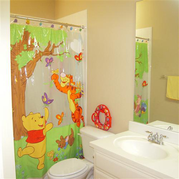 Cute 50+ Kids Bathroom Decor Ideas for your Inspiration - RoundPulse | Round kids bathroom decorating ideas