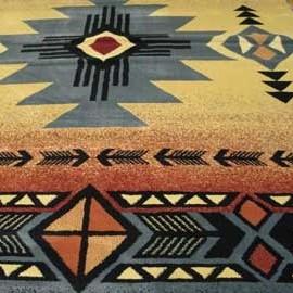 Cute Arizon Blue Southwestern Area Rug Detail southwestern area rugs