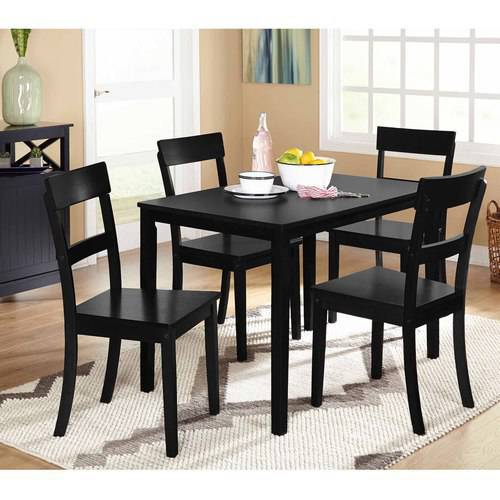 Cute Beverly 5-Piece Dining Set, Multiple Finishes - Walmart.com 5 piece dining set