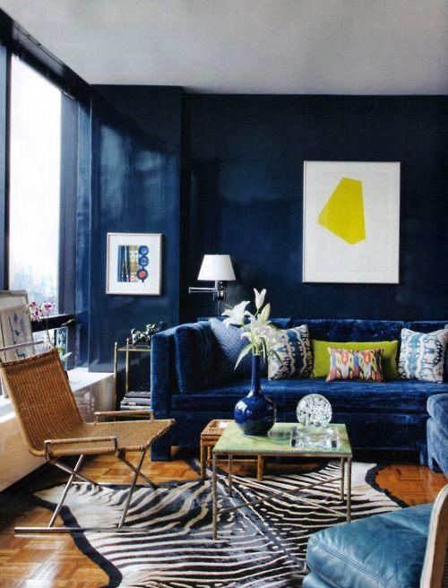 Cute Blue velvet couch navy blue velvet sofa