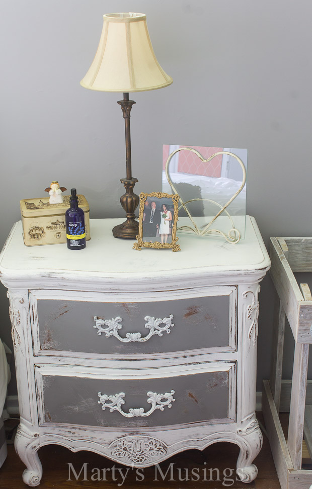 Cute By using both chalk paint and Behr paint this bedroom furniture went from shabby chic bedroom furniture