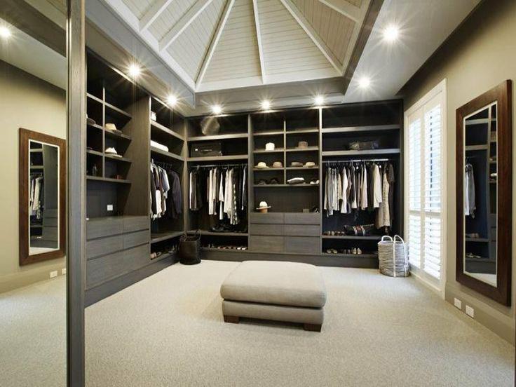 Cute Collect this idea Walk-in Closet for Men - Masculine closet design (4) best walk in closets