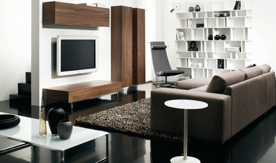 Cute contemporary living room modern furniture designs for living room