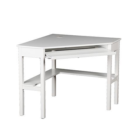 Cute ... Corner Computer Desk - White ... white corner computer desk