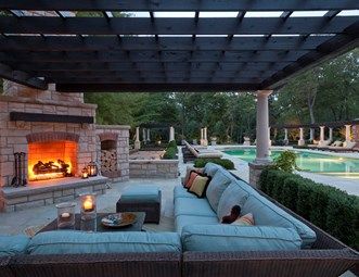 Cute Covered Fireplace Patio, Outdoor Sectional Outdoor Fireplace Zaremba and  Company Landscape Clarkston, outdoor fireplace patio