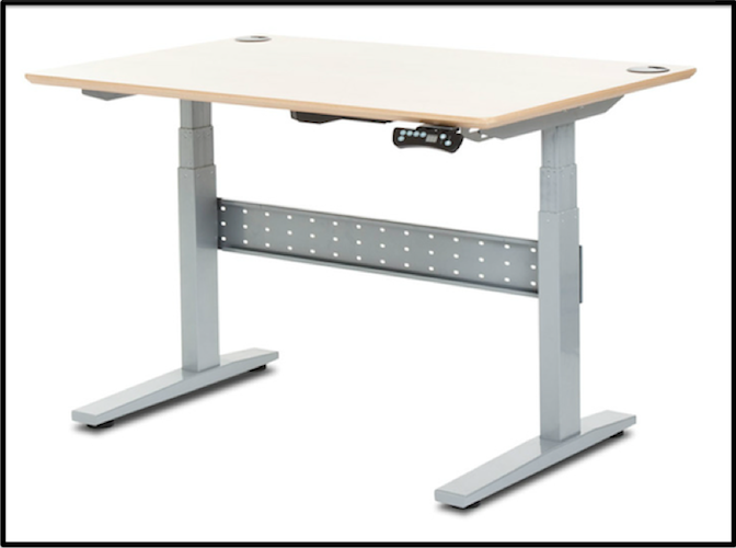 Cute GeekDesk Height Adjustable Electric Desk electric standing desk