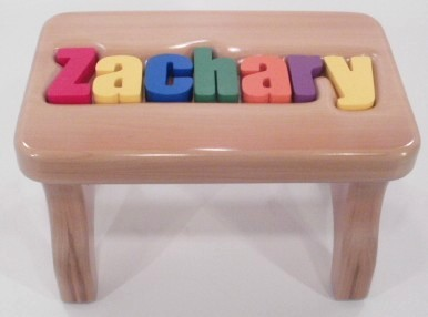Cute Heirloom Stool personalized wooden stool