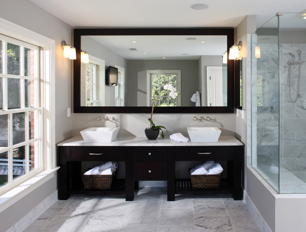 Cute huge-mirror bathroom vanity mirrors