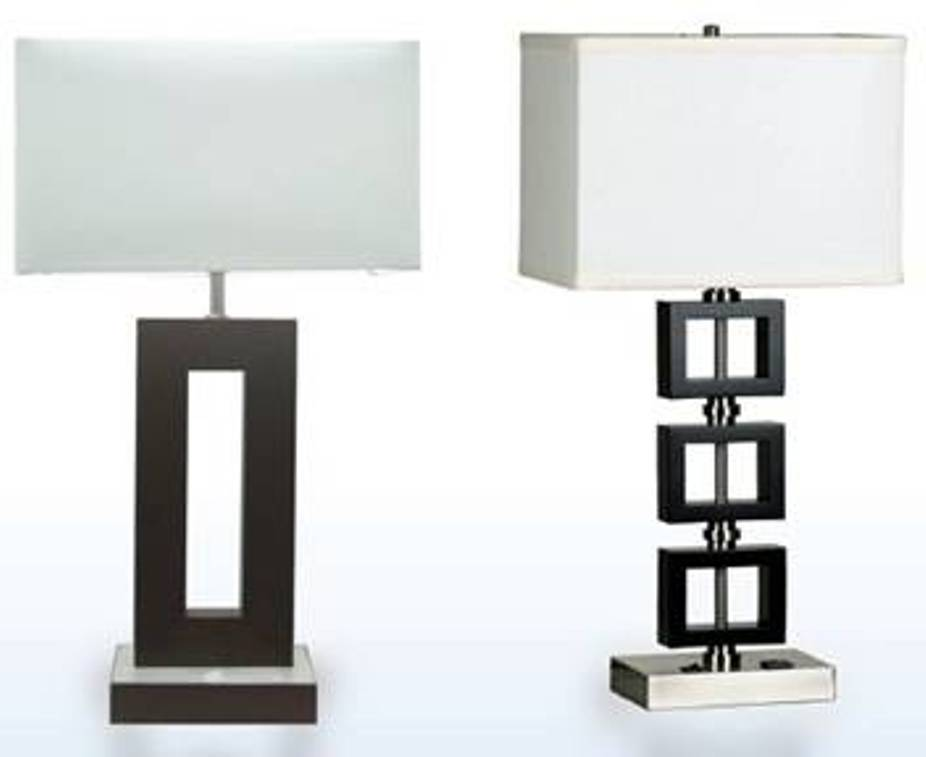 Cute Image of: Modern Nightstand lamps Ideas modern nightstand lamps