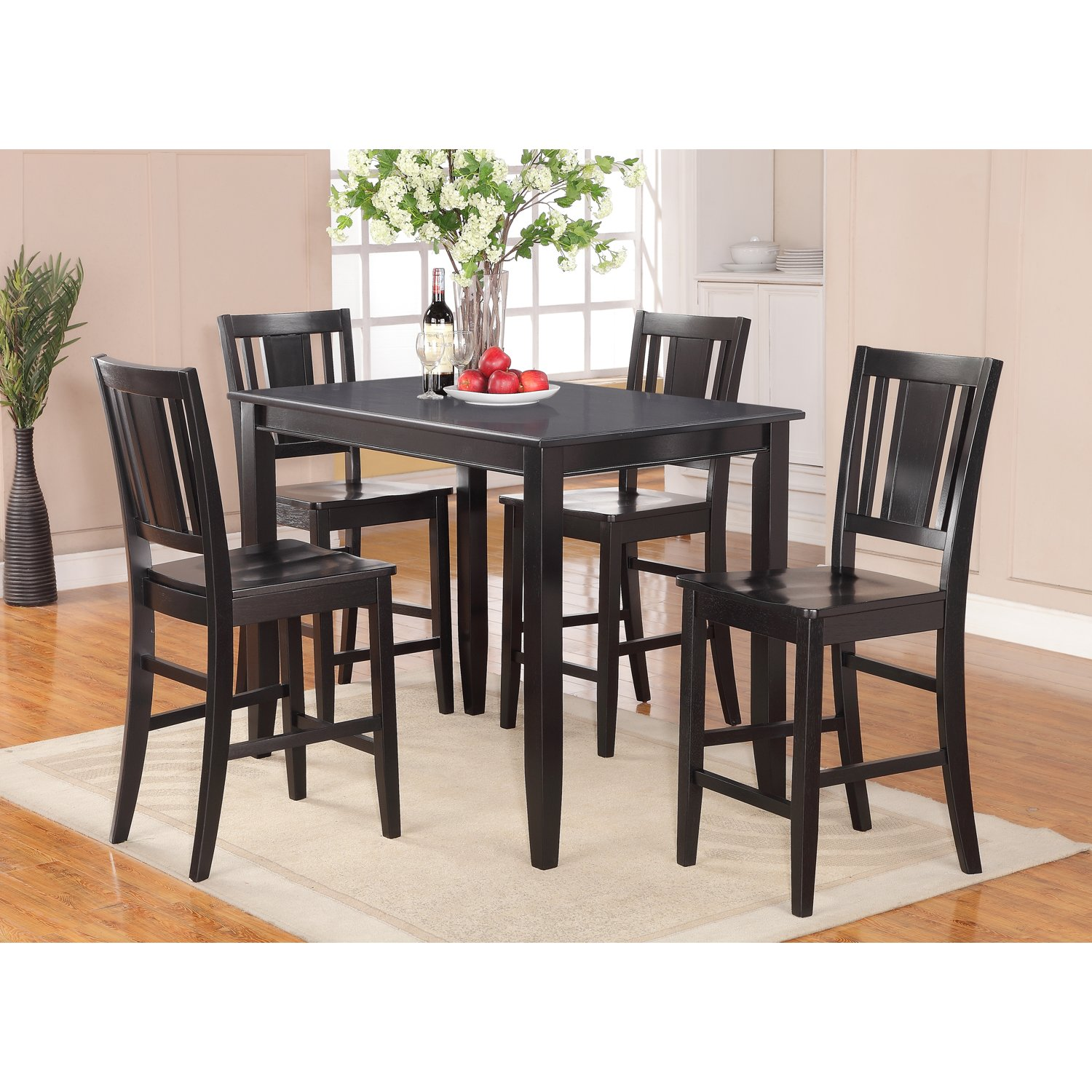 cute lightner 5 piece counter height dining set counter height dining set