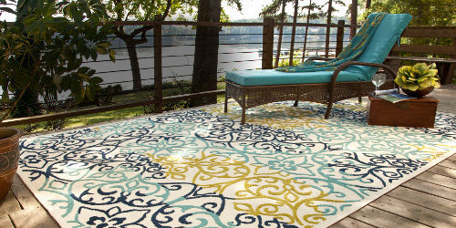 Cute ... look for your outdoor space. Along with a wide array of these outdoor rugs for patios