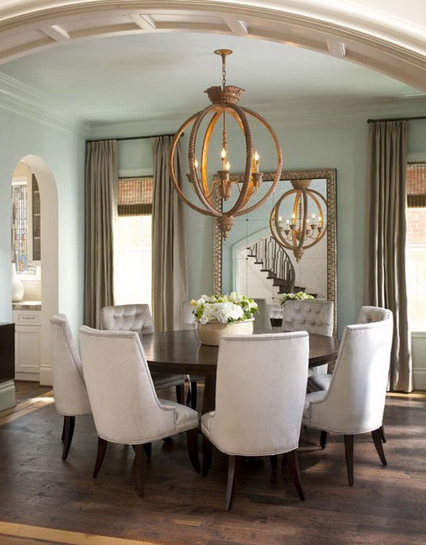 Cute Round Modern Dining Room Sets. Appealing Round Contemporary ... contemporary round dining room sets