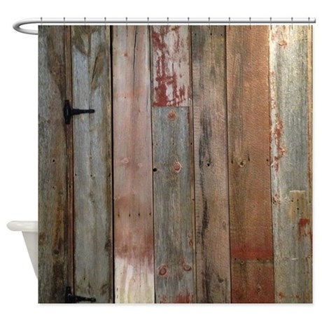Cute rustic western barn wood Shower Curtain rustic shower curtains