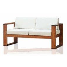 Cute Simple Wooden Sofa Design - simple sofa design