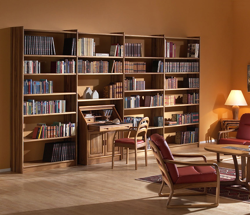 Wood Bookcases Furniture ~ Store your fantasies and reality in wooden bookshelf