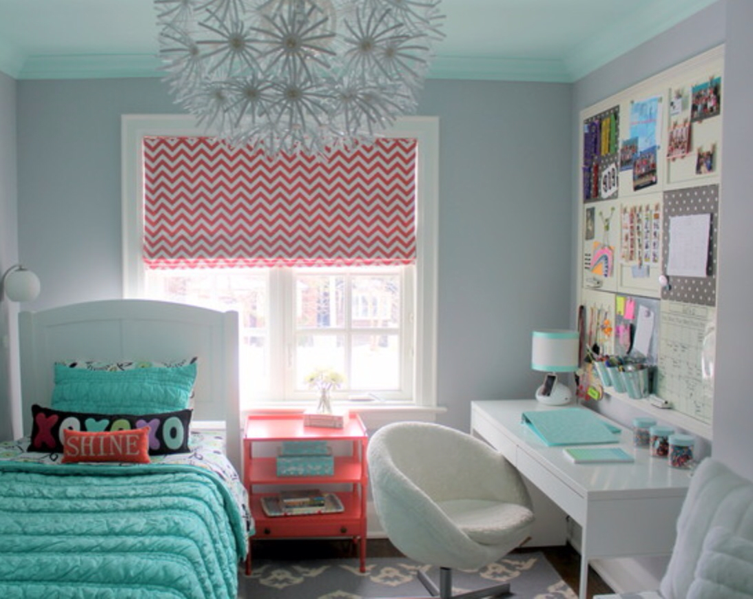Teenage room ideas for the age between child and adult