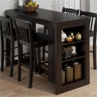 Cute Transitional Dining Tables by cymax space saving dining table and chairs
