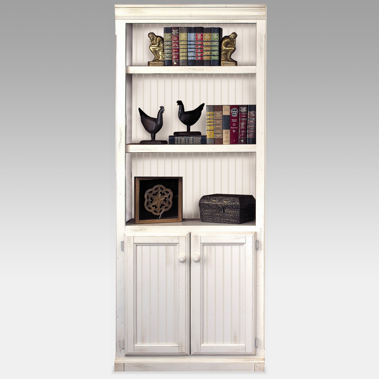 Cute white bookcases with cabinets white bookcase with cabinet