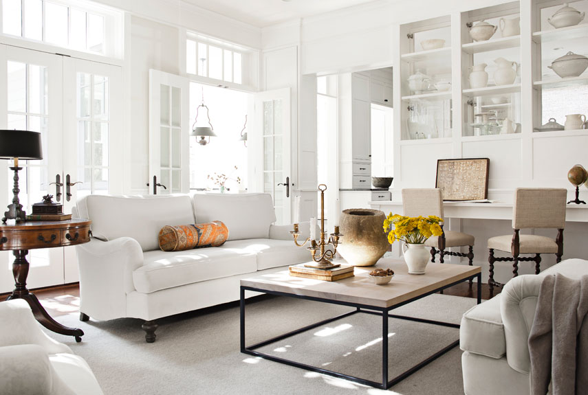 Cute White Living Rooms - Ideas for White Living Room Decorating white living room furniture