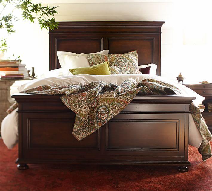 Amazing 25+ best ideas about Dark Wood Bed on Pinterest | Master bedroom dark wood bed frame