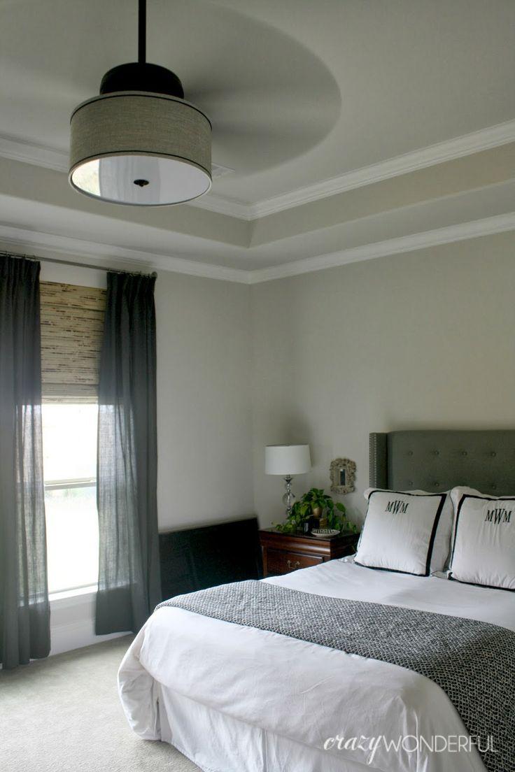 Unique Crazy Wonderful: DIY drum shade ceiling fan decorative ceiling fans for bedroom