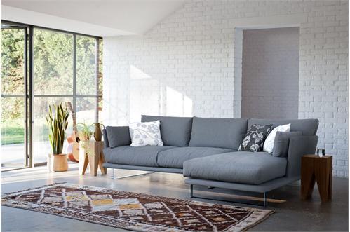 Cute Modern Grey Corner Sofa Bed L shaped designer corner sofa beds