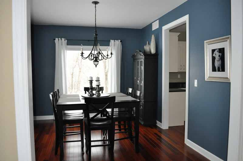 Elegant Dining Room Paint Color With Dark Furniture dining room paint colors dark furniture