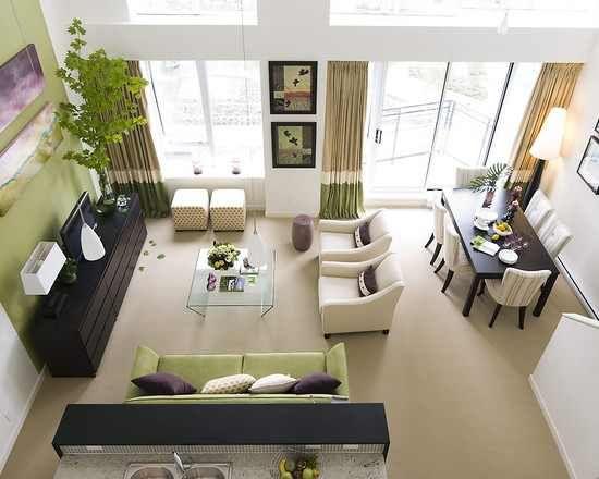 Stunning decorating a living room room combination | small living room dining room drawing dining room decoration