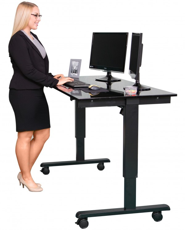 Stunning Electric standing desk ... electric standing desk