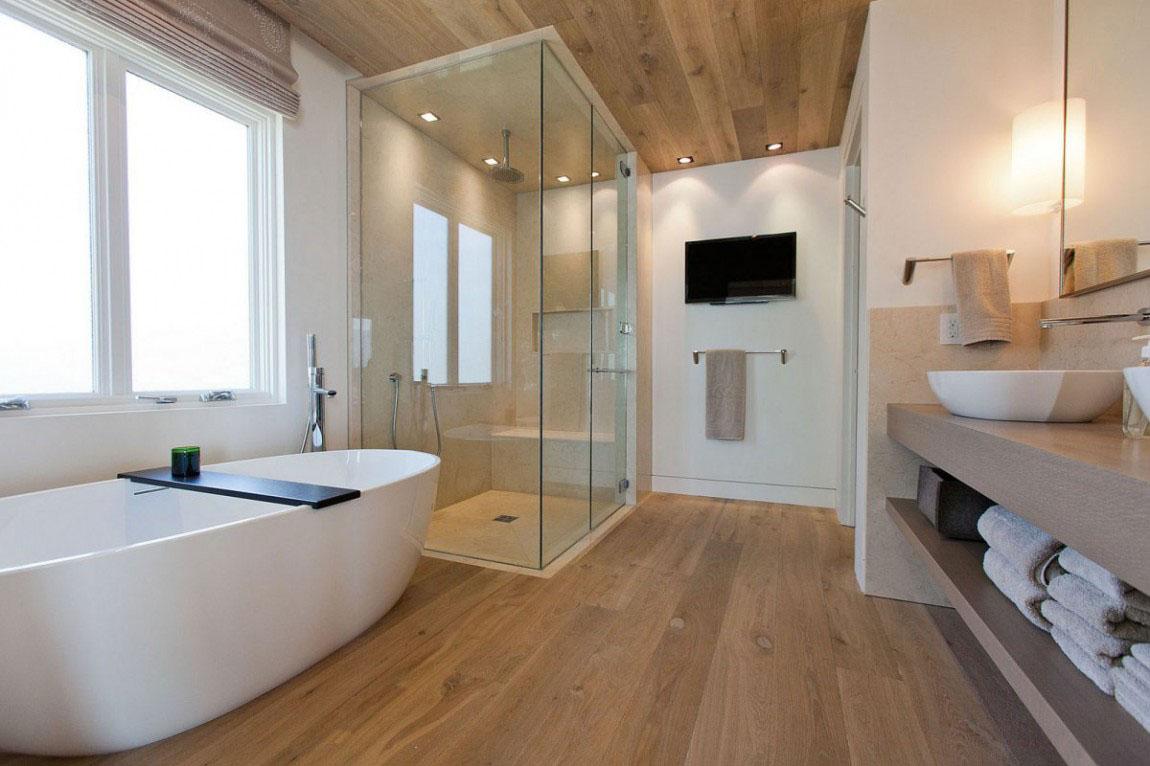 Elegant 30 Modern Bathroom Design Ideas For Your Private Heaven - Freshome.com contemporary bathroom design