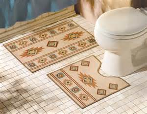 Elegant bathroom mat rugs from collections etc southwest bathroom mat rugs southwestern bathroom rugs