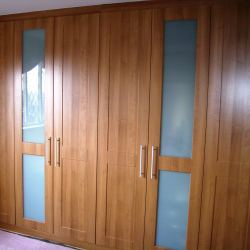 Elegant bespoke Wardrobe Doors replacement wardrobe doors