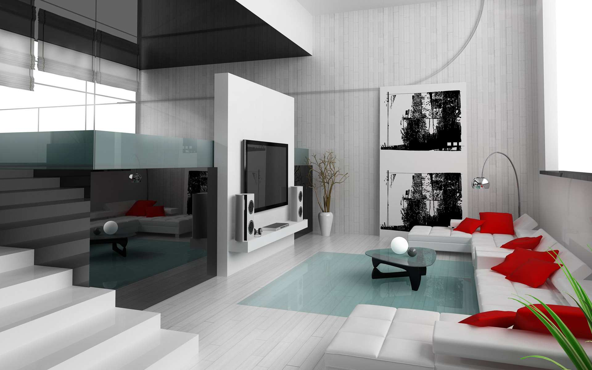 Elegant Black and White Interior Design Concept Sambeng Home Interior with Modern  Interior modern interior design concept
