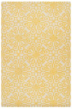 Elegant Brighten up your space with a yellow area rug and other citrusy accents, mustard yellow area rug