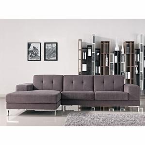 Elegant Divani Casa Forli - Modern Fabric Sectional Sofa modern sectional sofas