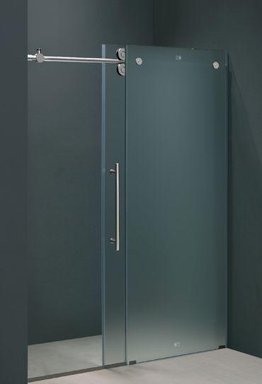 Best types of bathroom doors darbylanefurniture elegant frameless shower door in frosted glass glass bathroom doors planetlyrics Gallery