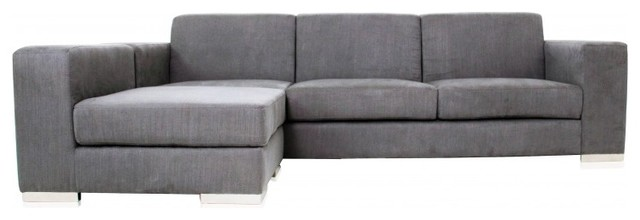 Elegant grey-sectional-sofa-4 modern gray sectional sofa