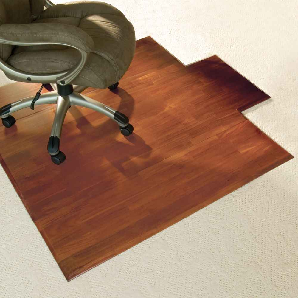 Elegant Home Office Chair Mats In carpet chair mats for hardwood floors